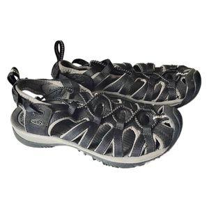 KEEN Women's Black Whisper Performance Sandals 6.5